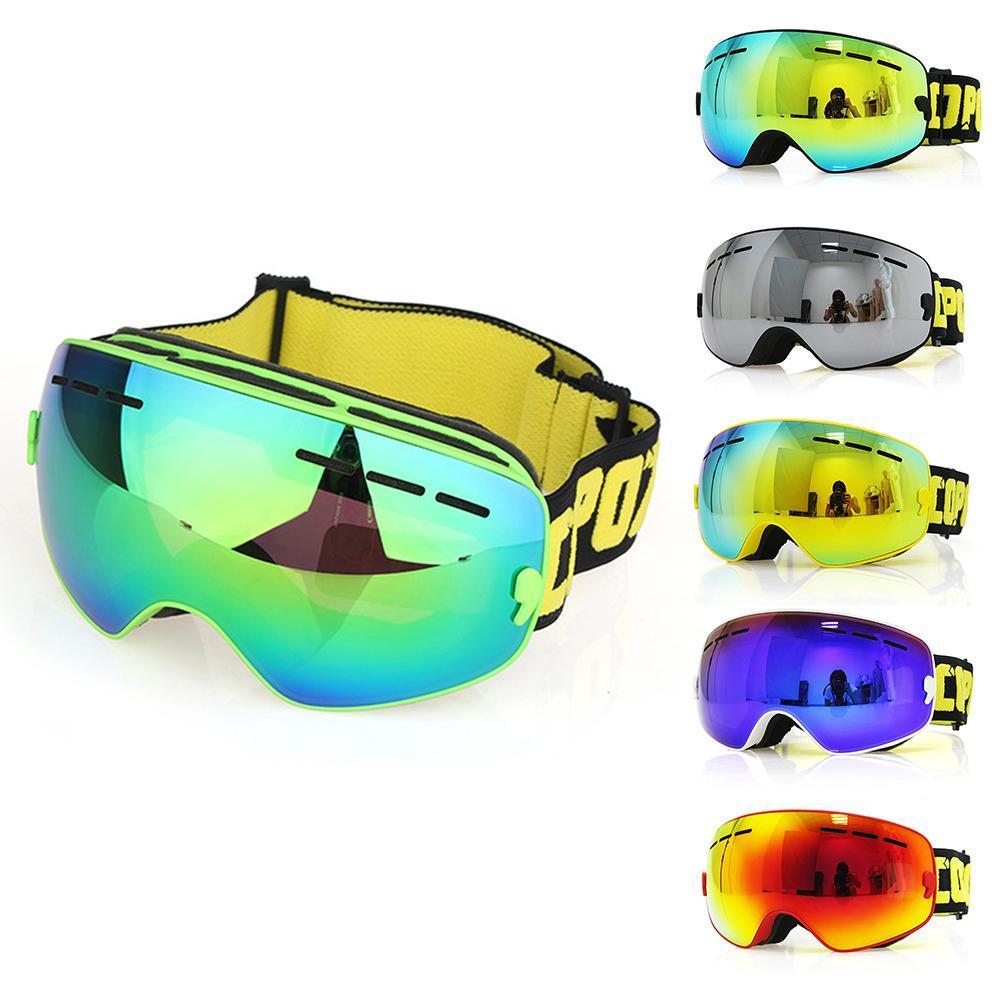 1d5b73fc59949 Compre COPOZZ Crianças Crianças Óculos De Esqui Dupla UV400 Anti Nevoeiro  Máscara Óculos Óculos De Esqui Meninas Meninos Snowboard Goggles De  Miaoshakuai, ...