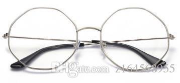 5973b323c0 2018 New Style Eyeglasses Men s Korean Version Half-frame Plain ...
