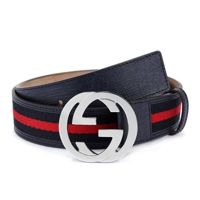 64c7851e761 Official Men Belt With Box Red Leather Belt With Web 114984 Belt Hole  Puncher Belt For Men From Diouman447447