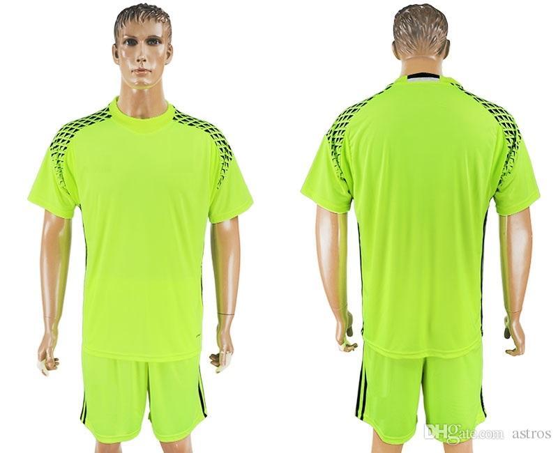 Soccer Jersey 2018 19 World Cup Belgium Goalkeeper Camisetas De ... 3c675d92e