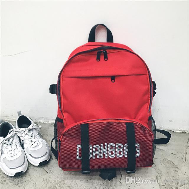 5f21e24d48 Women Vintage Letter Backpack For Teenagers Girls School Bag Ladies Canvas  Backpack Female Bookbag Casual Travel Bag Mochila Q 180 Gym Bags For Men  School ...