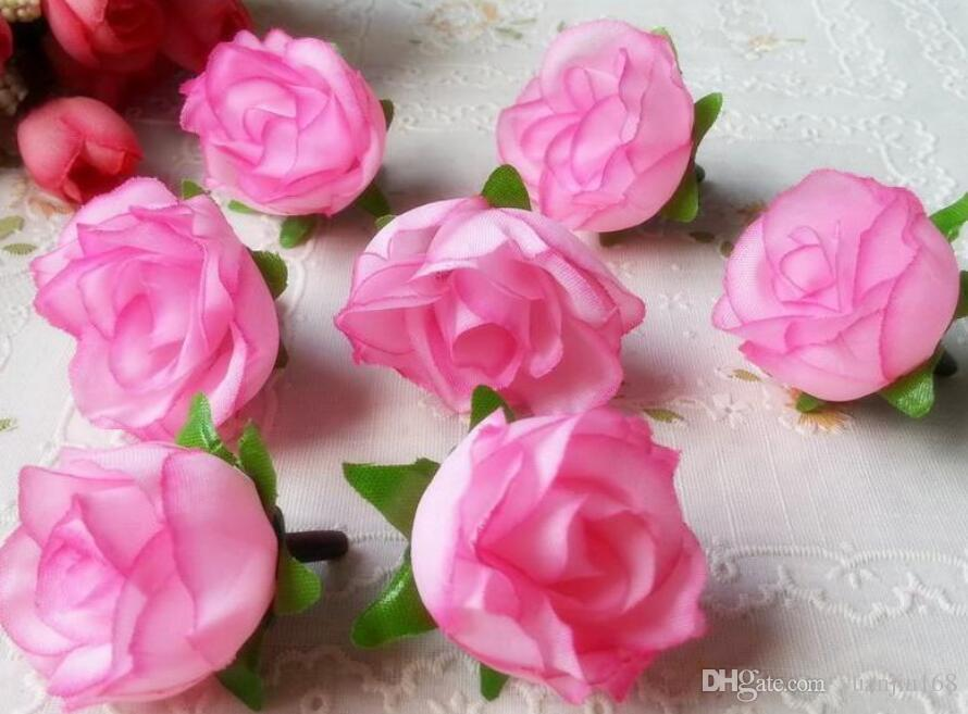 Wholesale artificial flowers heads pink artificial rose bud wholesale artificial flowers heads pink artificial rose bud artificial flowers for wedding decorations christmas party silk flowers by yuanjiu168 under mightylinksfo