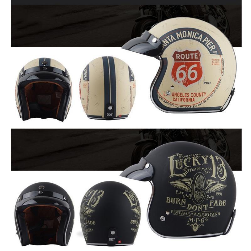 226fe2353ceed Compre Casco Antiguo Del Casco De La Travesía De Torc Harley  Antibacteriano