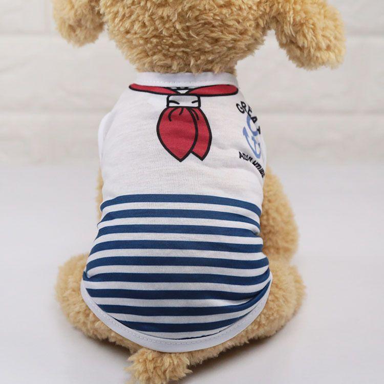 Chaleco de perro de verano chaleco de algodón camisa de perrito ropa Chihuahua Shih Tzu Yorkshire Terrier Yorkie Bichon ropa de mascota ropa camisa