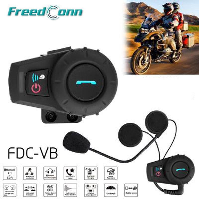 4485dbdfcab Satın Al FDC VB Motosiklet BT Interkom 500 M Su Geçirmez Kask Interkom  Kulaklık Tam Dubleks Bluetooth Hoparlör Motosiklet, $63.88 | DHgate.Com'da