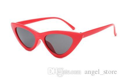 231623db97c69 2018 Cute Sexy Retro Cat Eye Sunglasses Women Small Black White Triangle  Vintage Cheap Sun Glasses Red Female Uv400 Online Eyeglasses Discount  Sunglasses ...