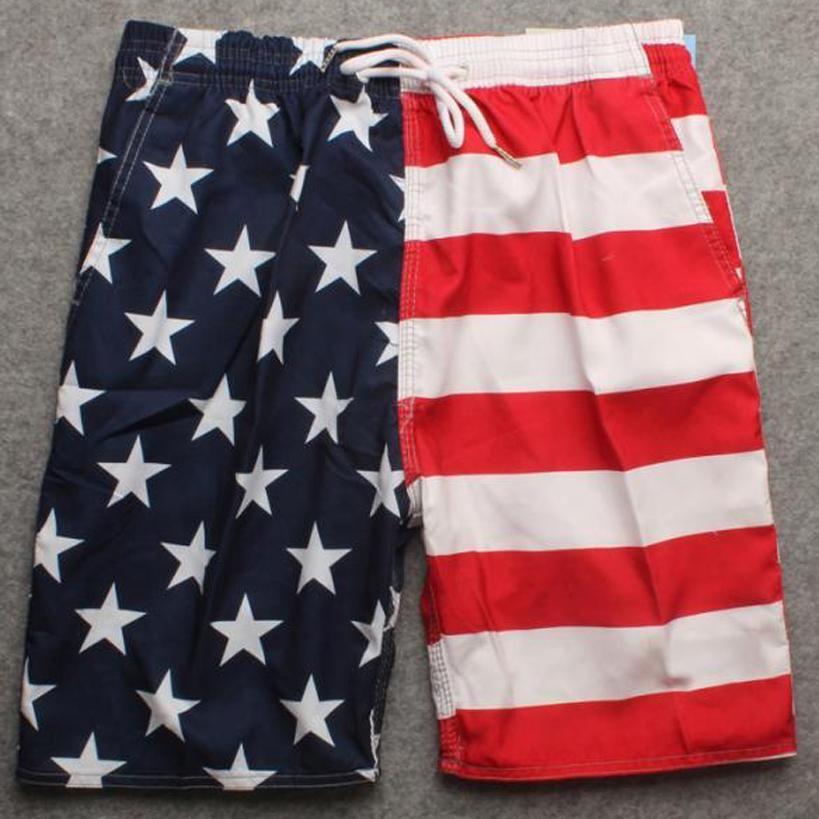 a1242bdbac men's boardshort mens board short striped printing bermuda masculina male  elastic waist casual shorts beachwear for man 904