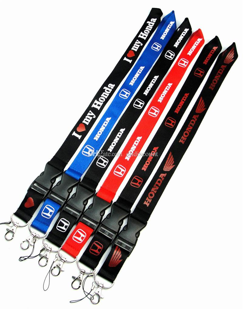 Car Honda Phone Straps Lanyard Neck rope slings with Clip strap Lanyards for Key mobile iD Card Keychain phone strap