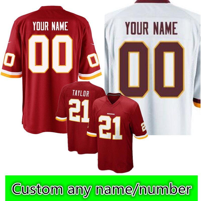 20c7e1510ff Washington Redskins Custom Jersey Mens #25 Chris Thompson 91 Ryan ...