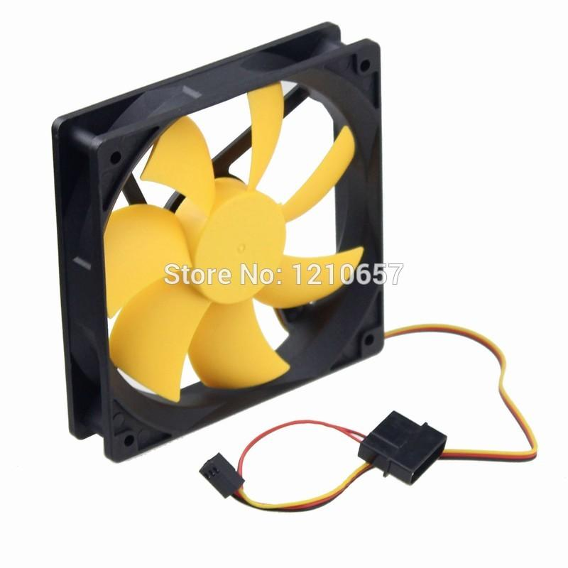 10Pieces lot PC Computer Case Cooling Fan Cooler 12V 3Pin 4Pin 120mm  120x120 x25mm Hydraulic