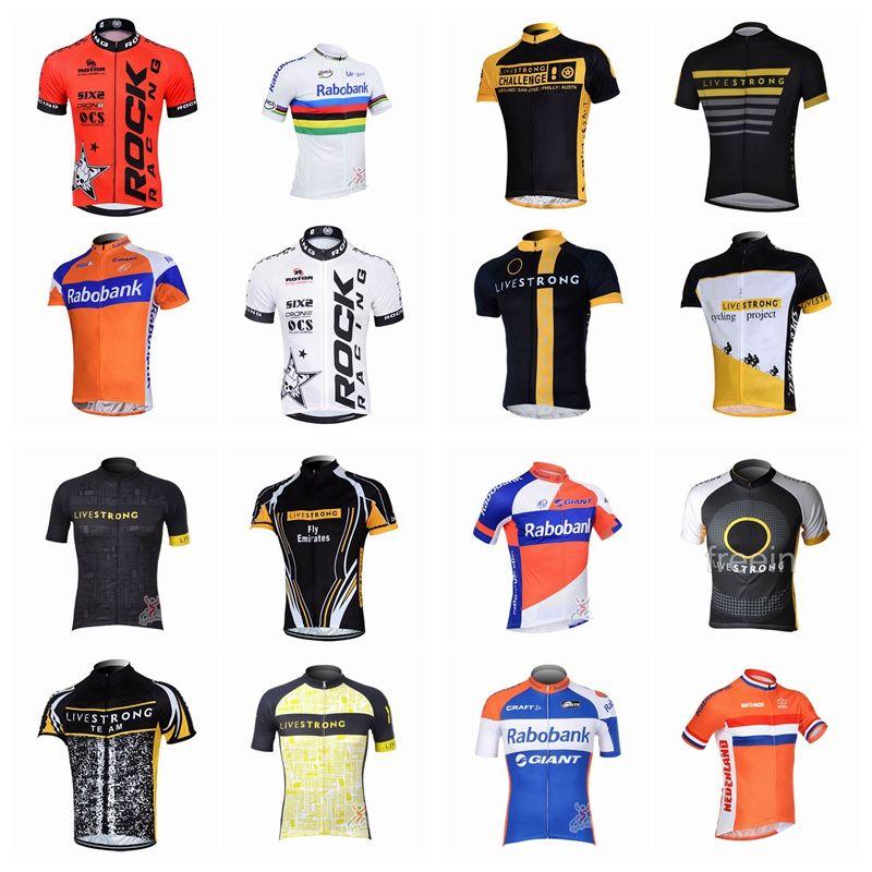 643d77d38 2018 LIVESTRONG -RABOBANK New Hot Men s Cycling Short-Sleeved ...