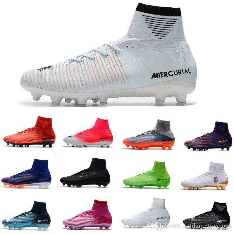 2019 Men Women Football Shoes Neymar Hypervenom Phantom JR Magista Obra 2  Mercurial X EA SPORTS Superfly CR7 FG Soccer Cleats Ankle Soccer Shoes From  ... 55091f6a83