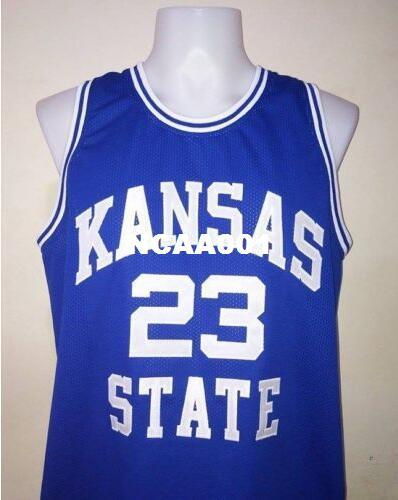 f19503668940 2019 Men #23 Mitch Richmond Kansas State University College Vintage Jersey  Size S 4XL Or Custom Any Name Or Number Jersey From Ncaa001, $16.45 |  DHgate.Com