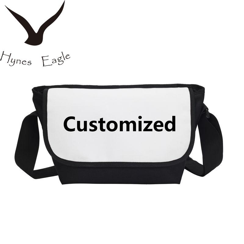 cf7cc7576a Hynes Eagle Custom Your Image Name Logo Satchels Cover School Bag Casual  Messenger Bag Crossbody Shoulder Bags Handbags Cheap Designer Handbags  Black ...