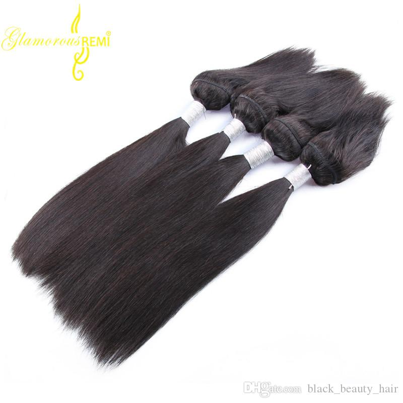 Straight Hair Braid In Bundles 10-28 Inch No Sew No Crochet No Glue 100%Brazilian Peruvian Malaysian Human Hair Weave