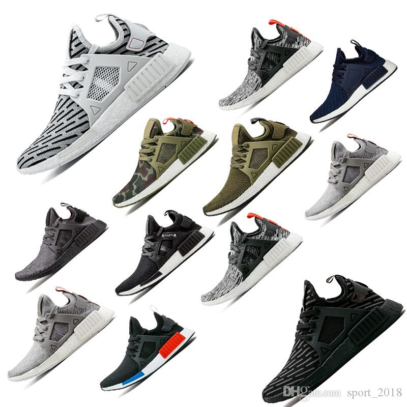 bc8b36ca85c45 NMD XR1 Running Shoes for Men Mastermind Japan Olive Green Camo ...