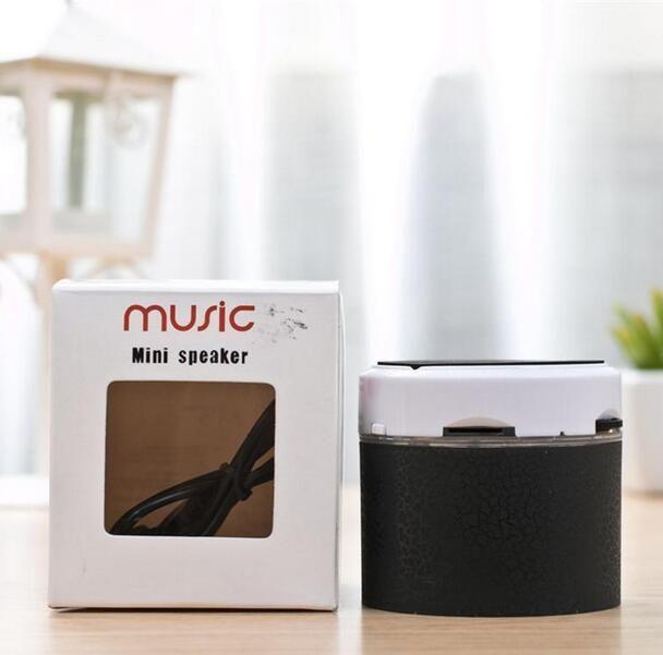 مكبرات صوت Bluetooth LED A9 S10 السماعات اللاسلكية الأيدي المحمولة مصغرة مكبر الصوت مجانا TF USB FM دعم الكمبيوتر بطاقة SD مع مايكروفون