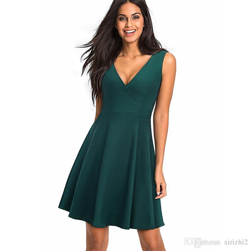 Kleidung Frauen Sexy V Sommer Kleider Großhandel Neue Ausschnitt UMpzqSV