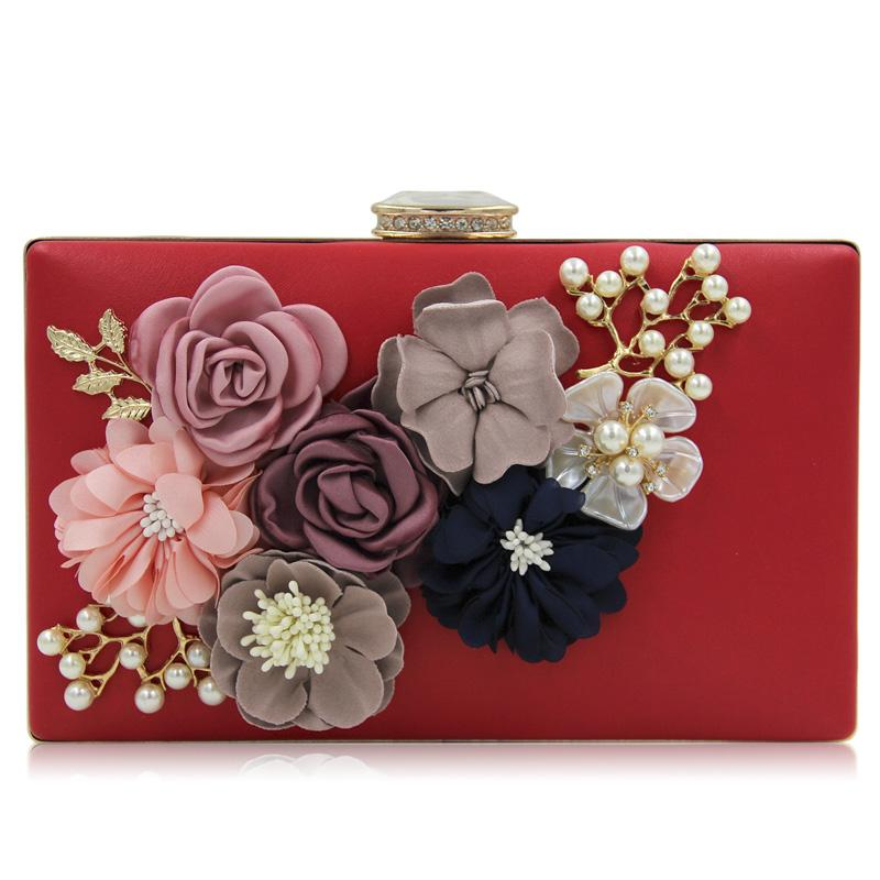 2018 neue Frauen Handtasche Damen Schwarz Abendtaschen Damen Königsblau Tageskupplungen Geldbörsen Weiblich Rosa Hochzeitstasche