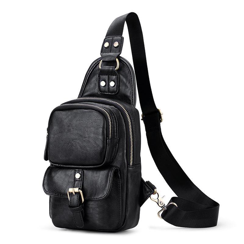 55a478544fe7a Großhandel NEUE Brusttasche Mode Umhängetasche Für Männer Brust Taschen  Casual Qualität Schulter Messenger Taschen Handytasche Herren Handtaschen  Von ...