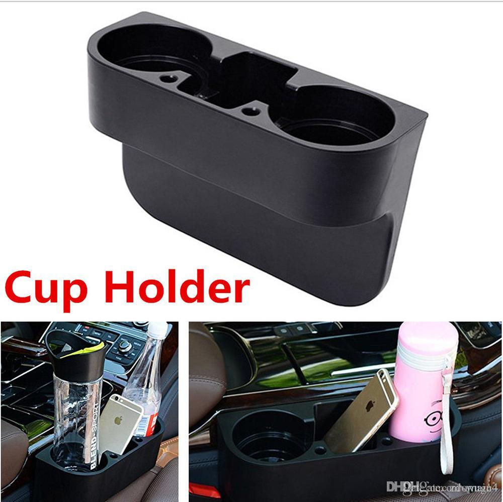 Auto Truck Car Seat Drink Cup Holder Valet Beverage Can Bottle Food Mount Stand Box Organizer Multifunction Vehicle Tool For