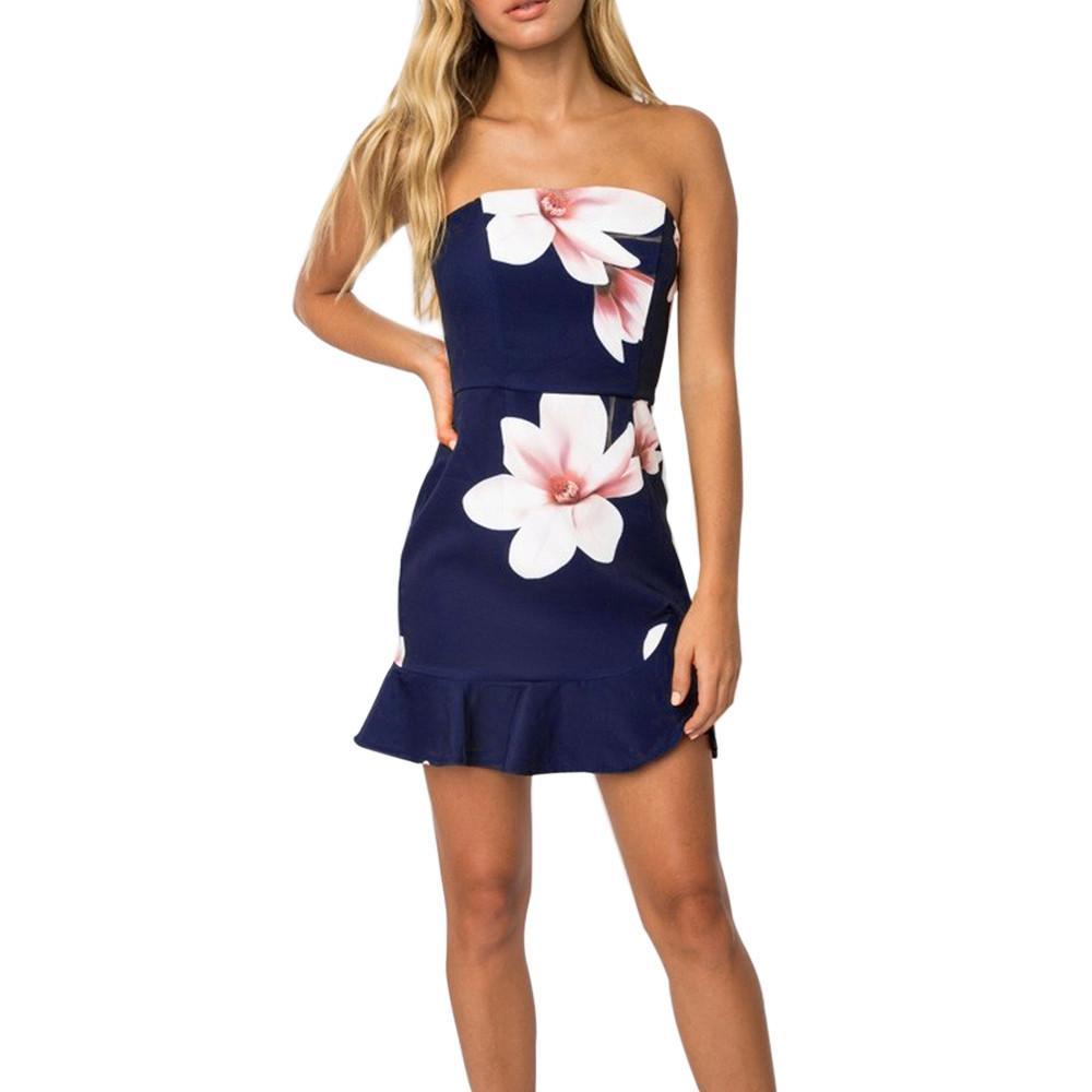 2c7afc7fd858 Großhandel Vetement Femme 2018 Womens Aus Der Schulter Böhmischen Stil Kleid  Damen Strand Sommer Sundrss Maxi Kleider Vestidos De Festa Von Liasheng10,  ...