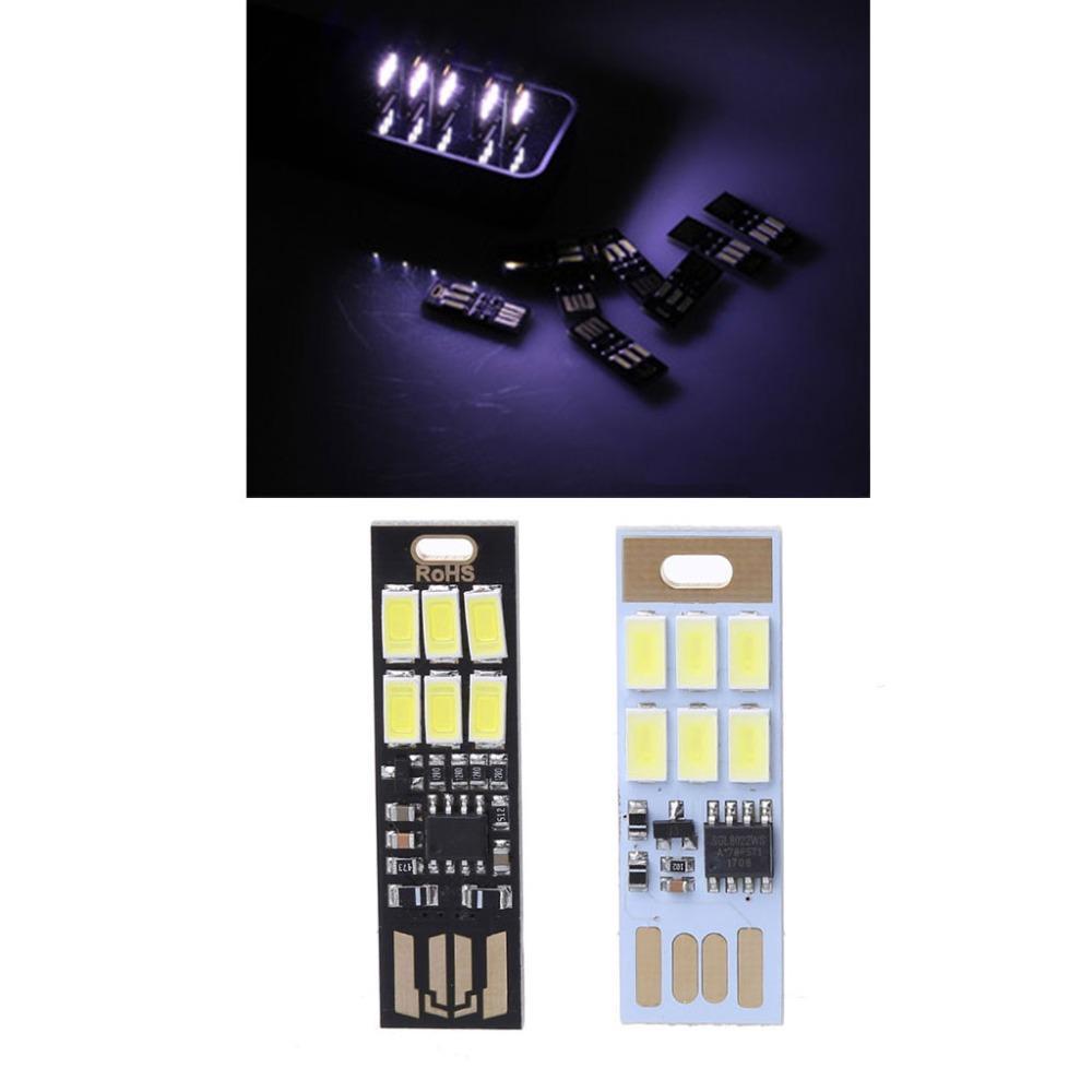 Lumière 6 Ordinateur Noir Led 1w Usb 1 Pour Bank C26 Power Lampe Tactile Pur 5v Pc Blanc Mini Dimmer Portable bgf7v6yYIm