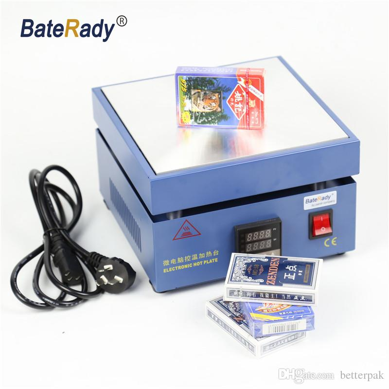BateRady Cellophane Wrapping Machine Cigarettes,Poker Box Blister BOPP Film Wrapper Packaging Sealing Machine 110V/220V