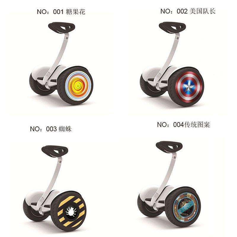 Nabe Aufkleber Für Xiaomi Ninebot 9 Roller Rad Aufkleber Für Xiaomi Elektrische Balance Roller Zwei Rad Aufkleber