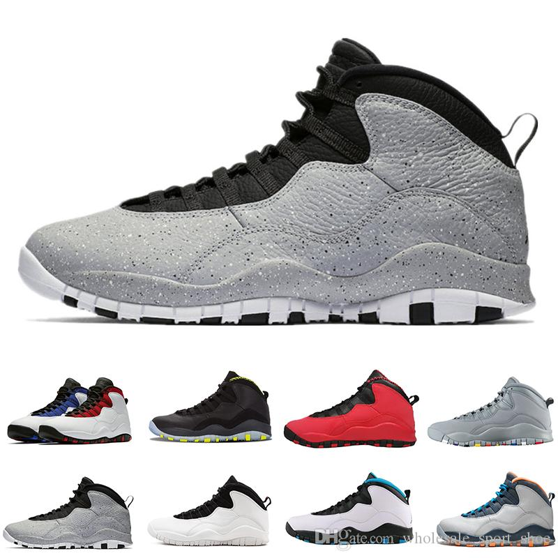 ab40bb36005188 Cheap Cement 10 Westbrook 10s I m Back White Black Cool Grey Bobcats  Chicago Steel Grey Men Basketball Shoes 10 Sneakers Size 40-47