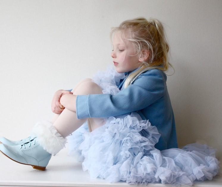 Niñas bebés Falda Tutu Mullida Niños Ballet Niños Pettiskirt Bebé Faldas de niña Princesa Tulle Fiesta Faldas de baile para niñas Barato