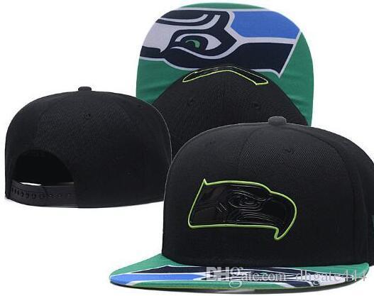 1e45e236b9b 2018 Sunhat Seattle Hat Fan s Headwear Snapback Caps Adjustable All ...