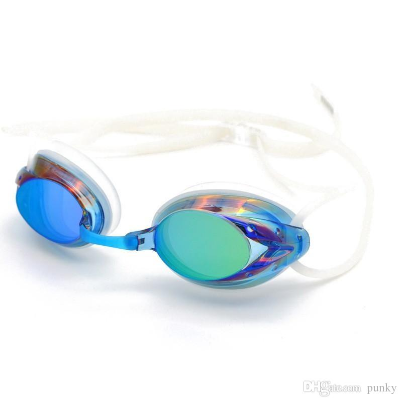 Swimming Racing Goggles Outdoor Clear Swim Glasses No Leaking Anti UV Protection Waterproof Swimming Eyewear for Teens Adult