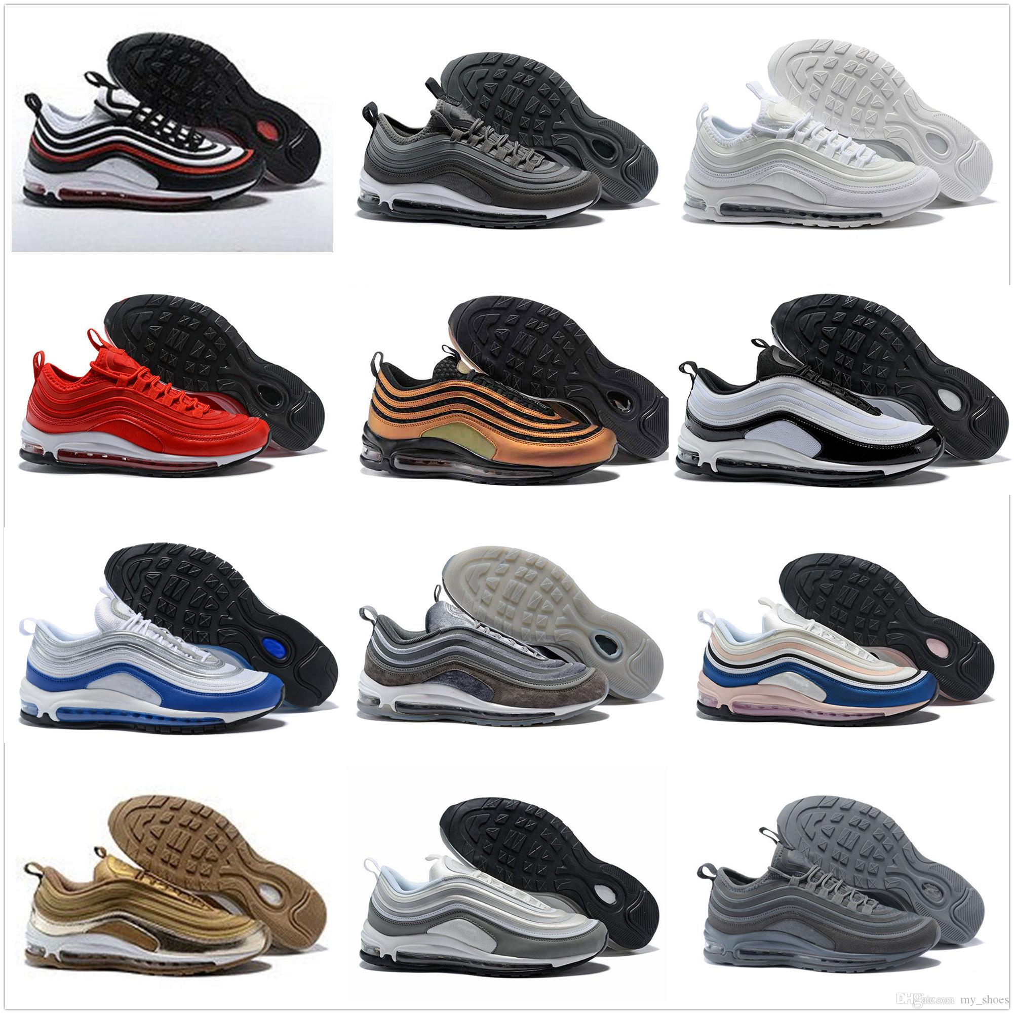 c7bd89203d79d5 2018 New Skepta 97 UL 17 OG Running Shoes Mens Trainers White Black ...