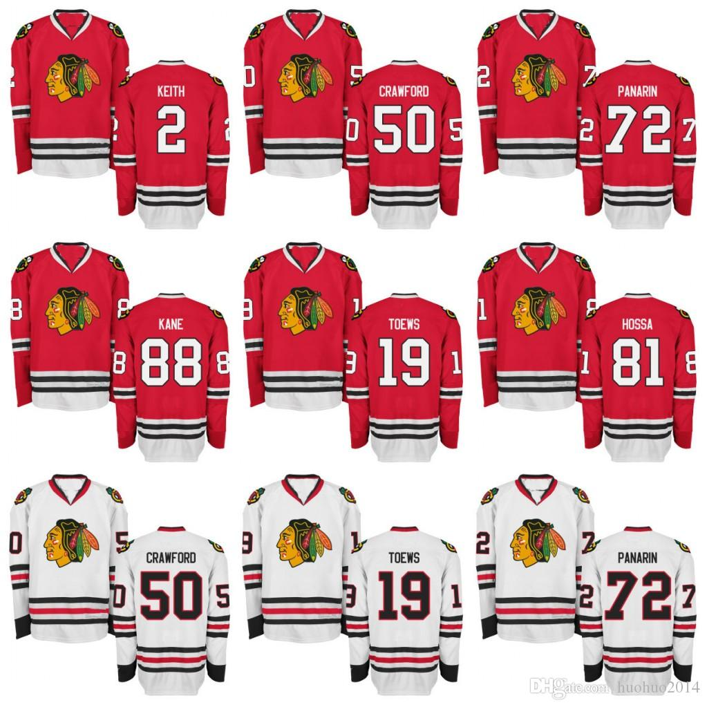 Youth Chicago Blackhawks 88 Patrick Kane 2 Duncan Keith 19 Jonathan ... 1d596fcb1