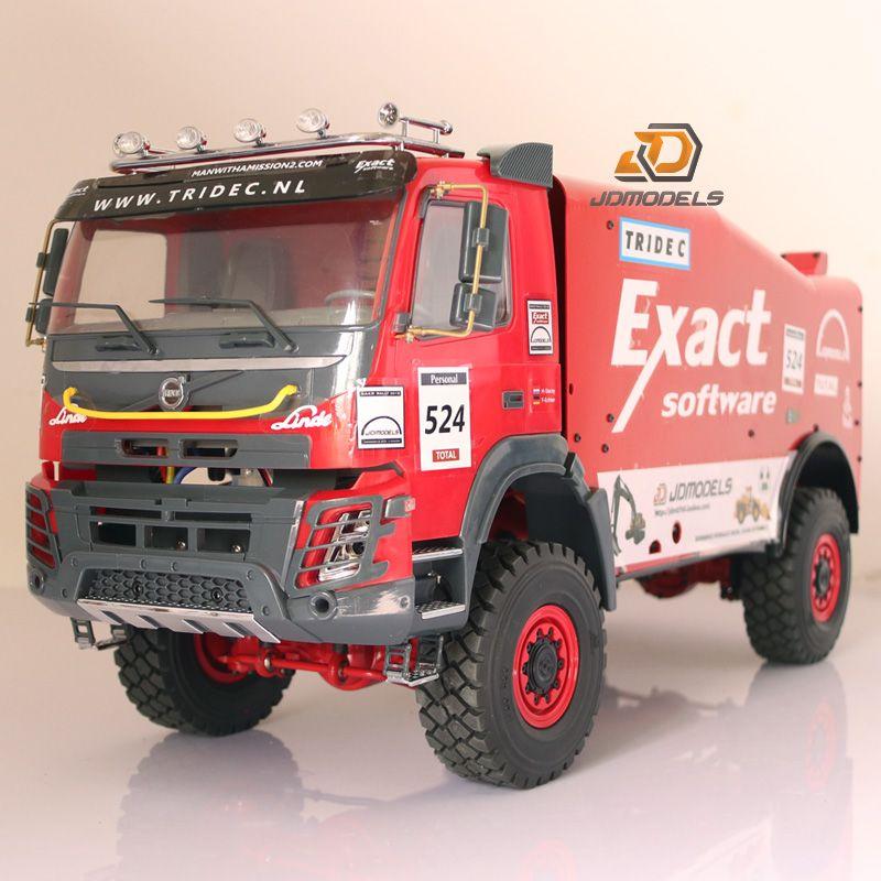 2019 Rc Car Tamiya Model 2018 Volvo FMX Version 1/14 Scale Dakar Rally Truck From Liu451213353 ...