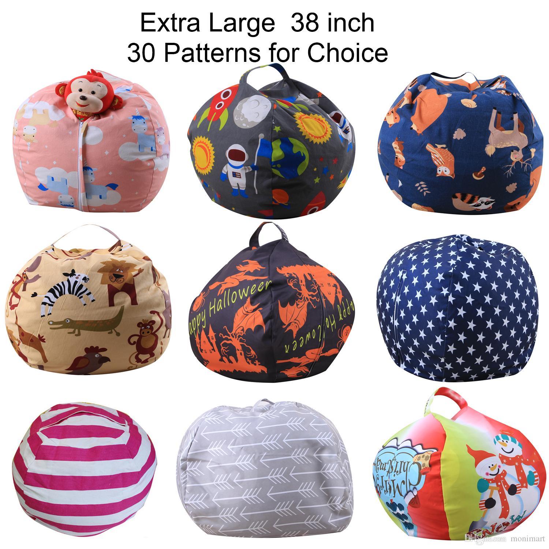 Extra Large Toy Storage Bag 38 Inch Stuffed Animal Storage