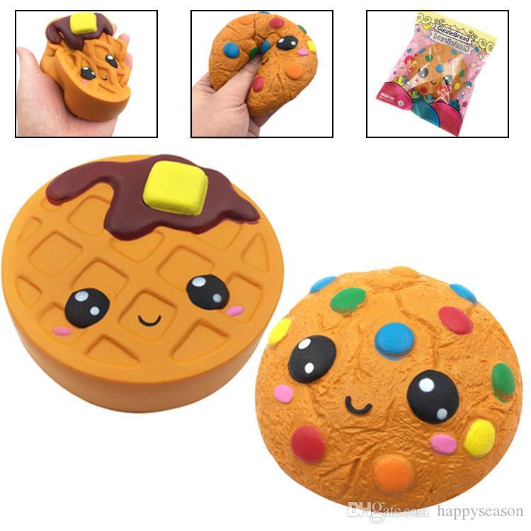 Emoji Schokolade Kuchen Squishy Duftende Cookies Super Soft Langsam