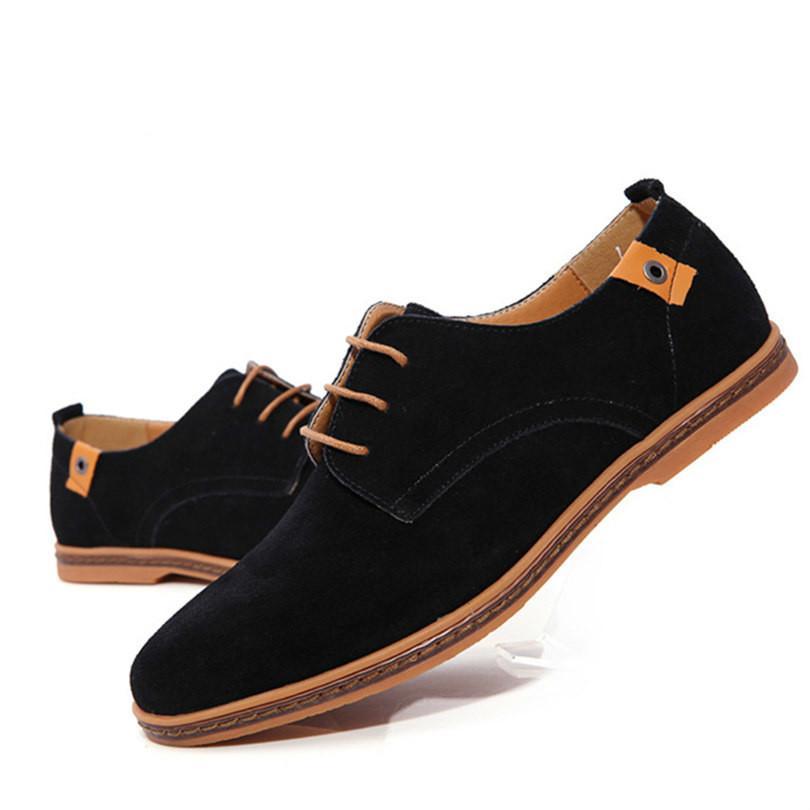 Zapatos de Cordones PU-Cuero Nubuck, Zapatillas Oxford para Hombre Verde 40 EU