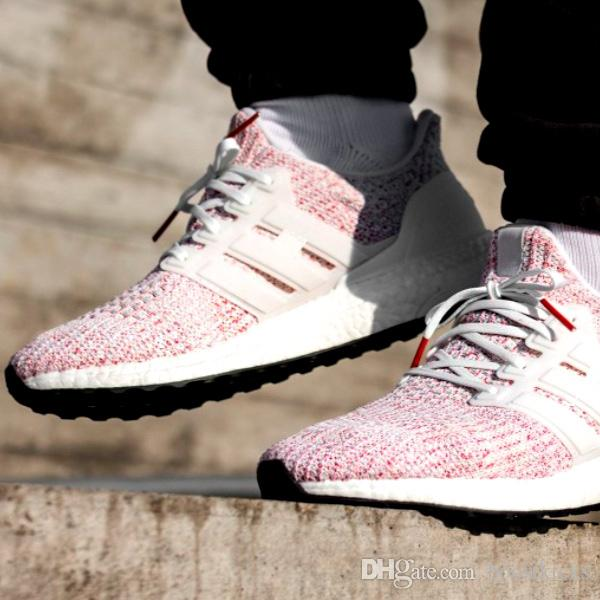 adidas Ultra Boost 4.0 Ash Pearl Women SNEAKERS Limited