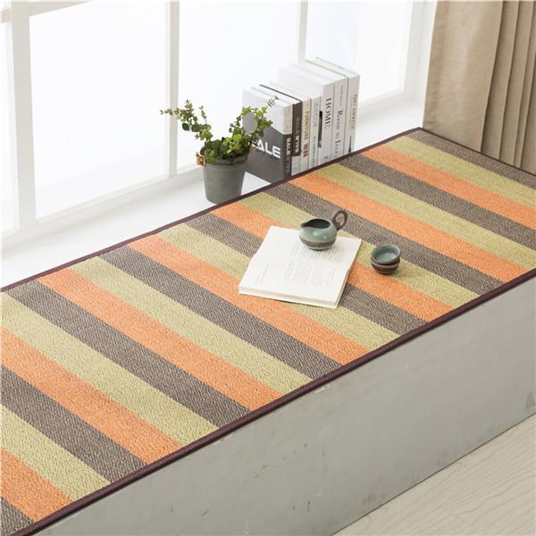 Japanese Tatami Large Bamboo Carpet Mat 200 90cm Oriental Design
