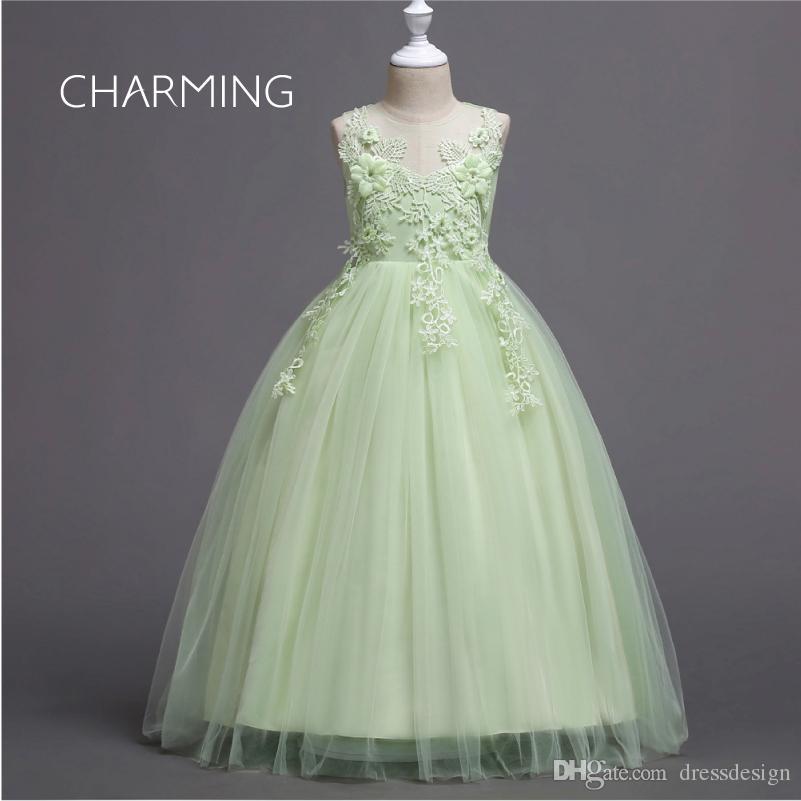 Beach Wedding Dresses Children S Petal Design Maxi Dress Special