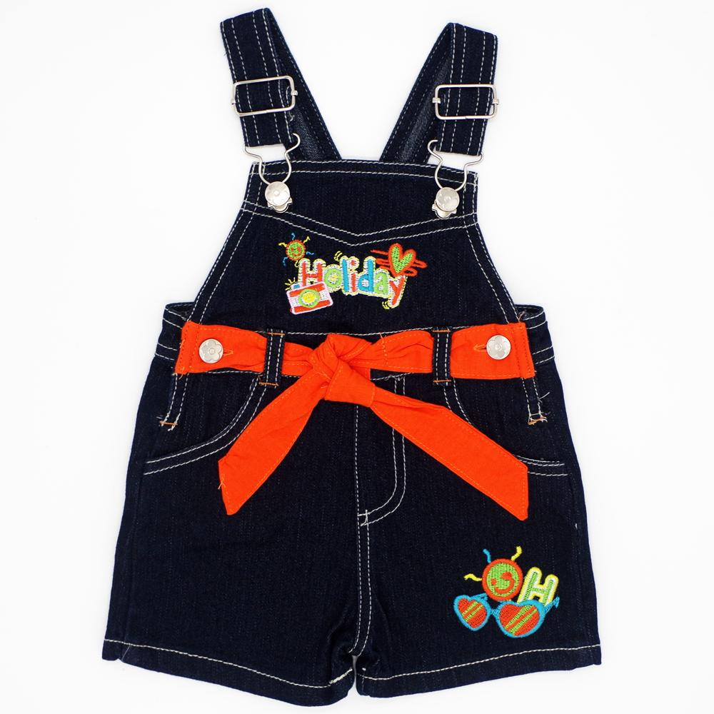 Fashion Baby Boys Girls Bib Jeans Jumpsuits Sling Pants Children Infant Denim Overall Trousers Brand Kids Clothes