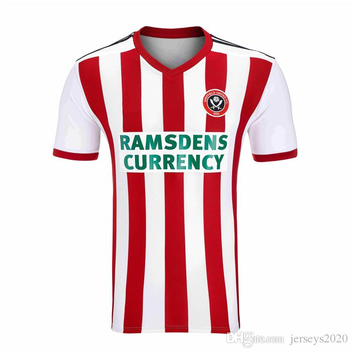 2019 Sheffield United 2018 19 Home Jerseys Adult 2018 2019 ...