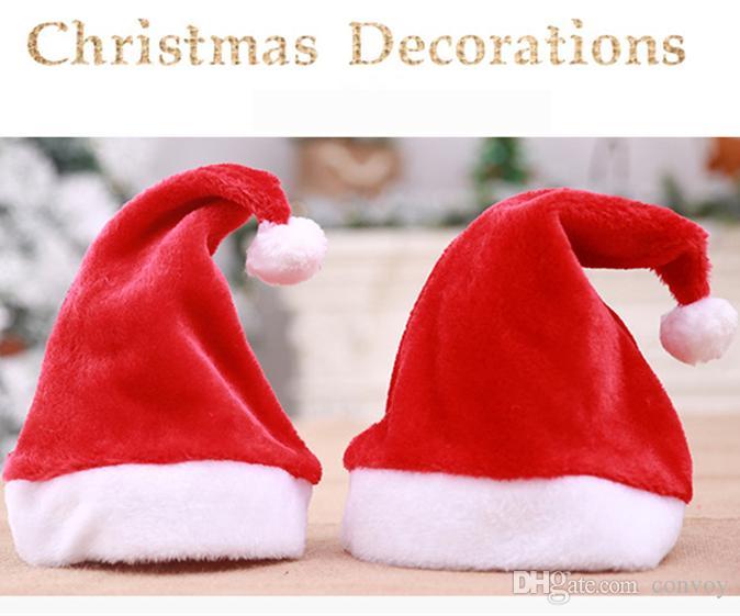 af0b53fbf6302 Compre Navidad Sombrero Rojo De Santa Claus Para Mujer Para Mujer Sombreros  De Navidad Sombreros De Navidad Cosplay Decoración De Navidad Adultos  Sombreros ...