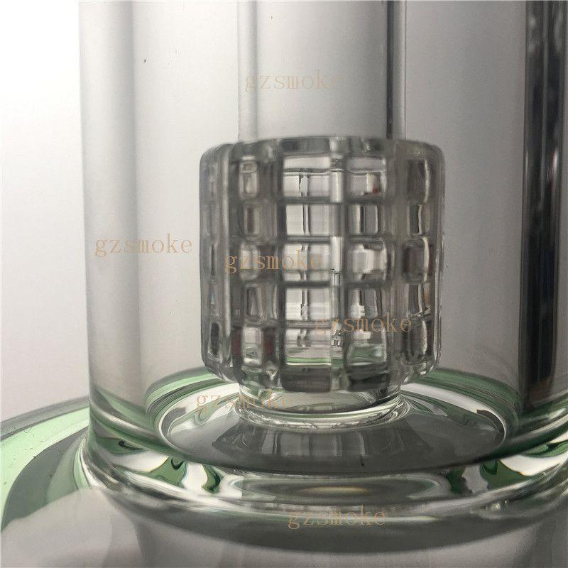 Матрица из стеклянных бонгов Perc Bong Heady Стеклянные трубки Перколятор Водопроводная труба 5 мм Толстая нефть Воск Буровая вышка Барботеры Керамические буровые установки
