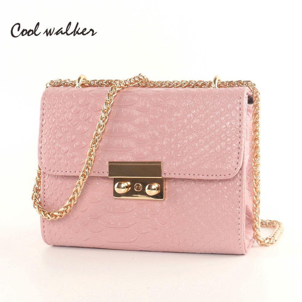 Cooi Waiker Bags Famous Brand Women Bags 2016 Messenger Bag Fashion Mini  Small Bags Chain Ladies Shoulder Purse And Handbags Cheap Designer Handbags  Black ... 48cc58e56b4a7