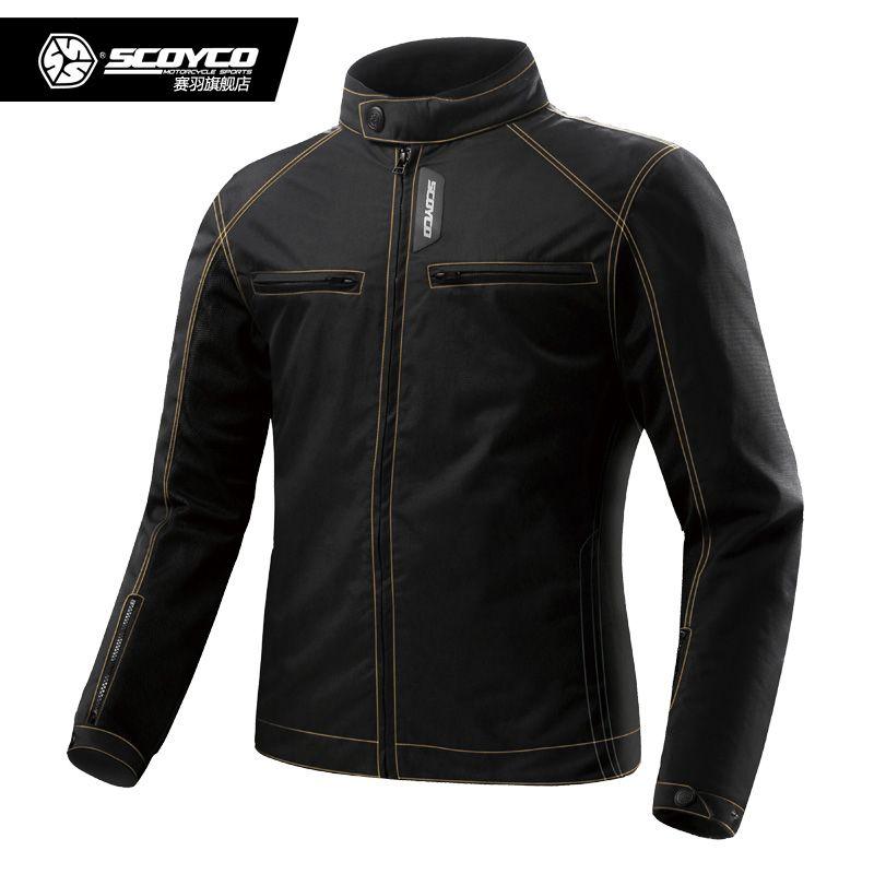 b92fb1750 2017 Summer New Mesh fabric motorcycle riding jacket Equipment JK49  Motorbike racing Jackets Taslan K380A Triangular mesh cloth
