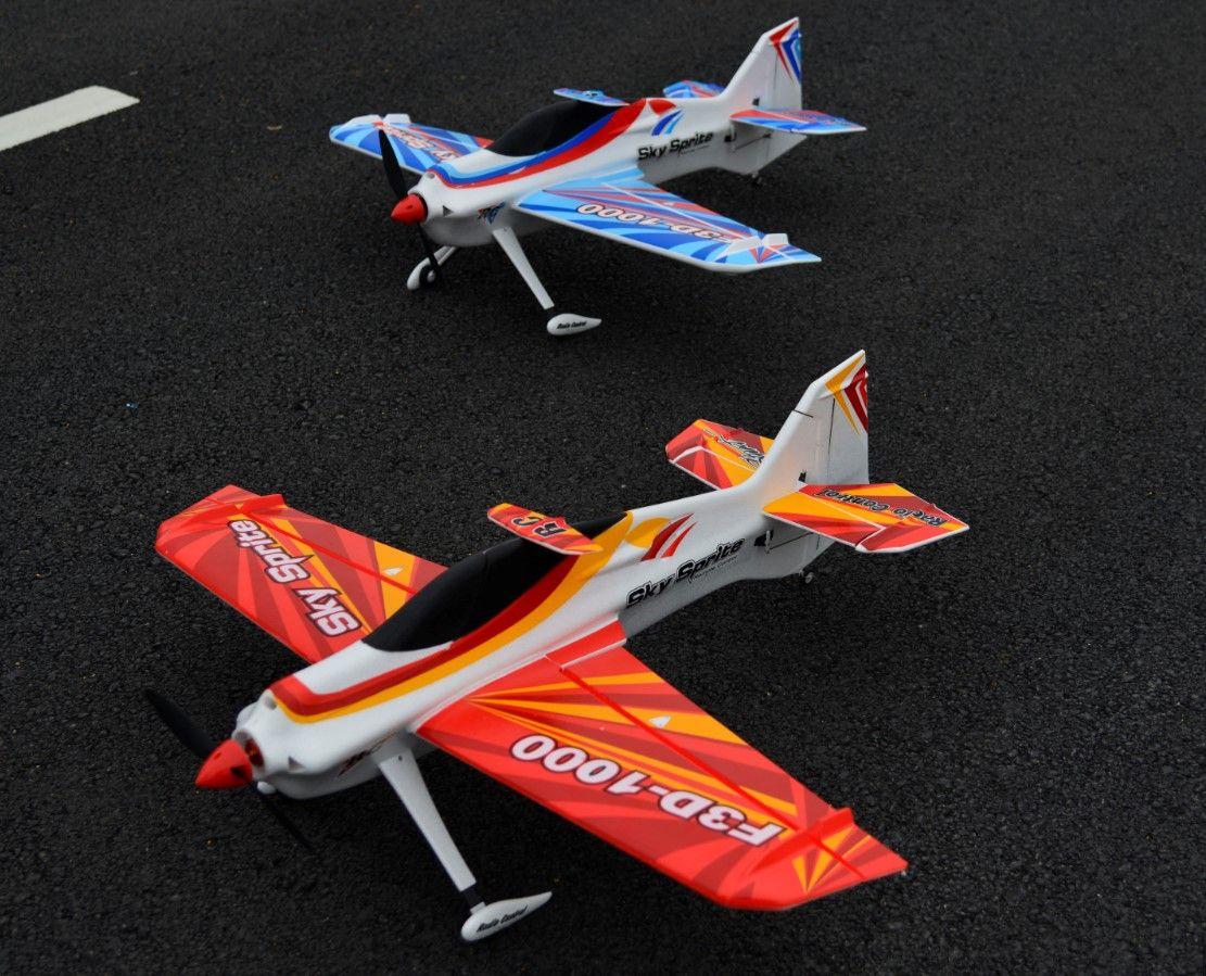 EPO Flugzeug Sport RC Flugzeug RC MODEL HOBBY TOY / WINGSPAN 1000 MM F3D-1000 RC 3D-Ebene Kit-Set oder PNP-Satz hat