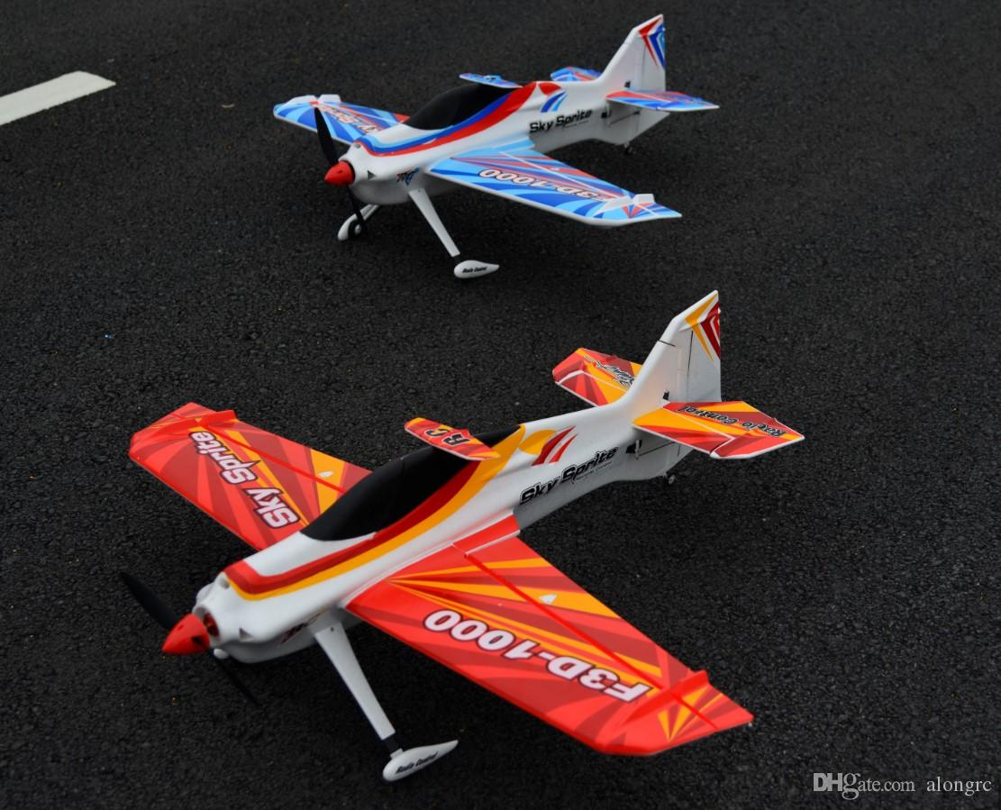 EPO plane sport RC airplane RC MODEL HOBBY TOY / WINGSPAN 1000 MM F3D-1000 RC 3D PLANE have kit set or PNP set